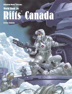 Rifts World Book 20: Canada | Darkhold Games