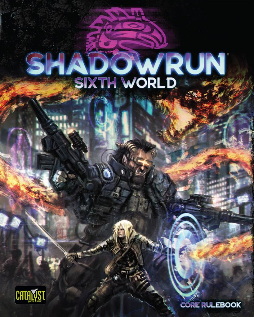 Shadowrun: Sixth World Core Rulebook | Darkhold Games