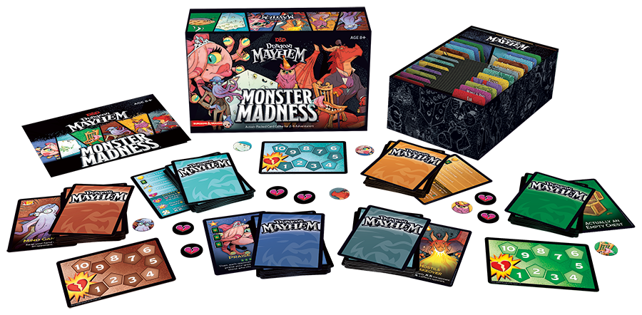 Dungeon Mayhem Monster Madness Deluxe Edition | Darkhold Games