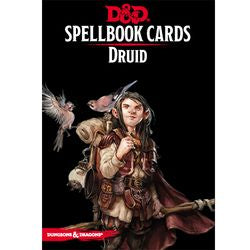 DUNGEONS AND DRAGONS: UPDATED SPELLBOOK CARDS - DRUID DECK | Darkhold Games