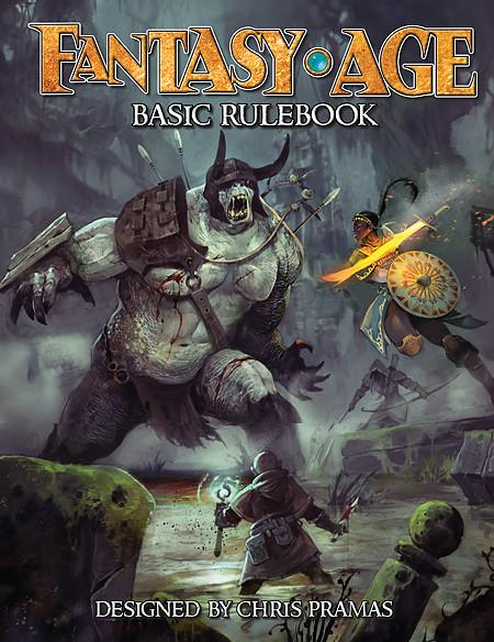 Fantasy AGE (Adventure Game Engine): Basic Rulebook Roleplaying Game | Darkhold Games
