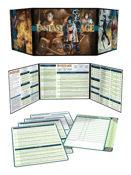 Fantasy AGE (Adventure Game Engine): Game Masters Kit | Darkhold Games