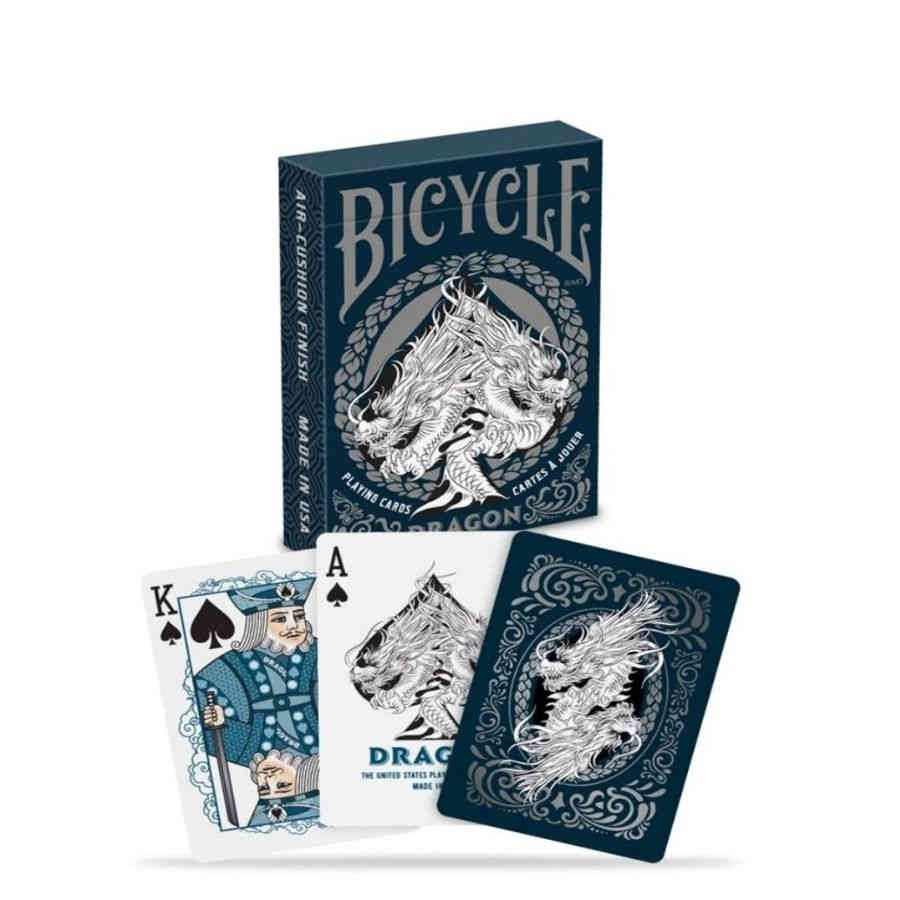BICYCLE PLAYING CARDS: DRAGON | Darkhold Games