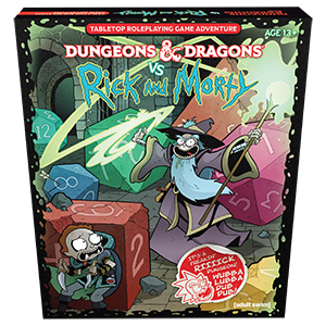 Dungeons & Dragons 5th Edition Rick and Morty Tabletop RPG | Darkhold Games
