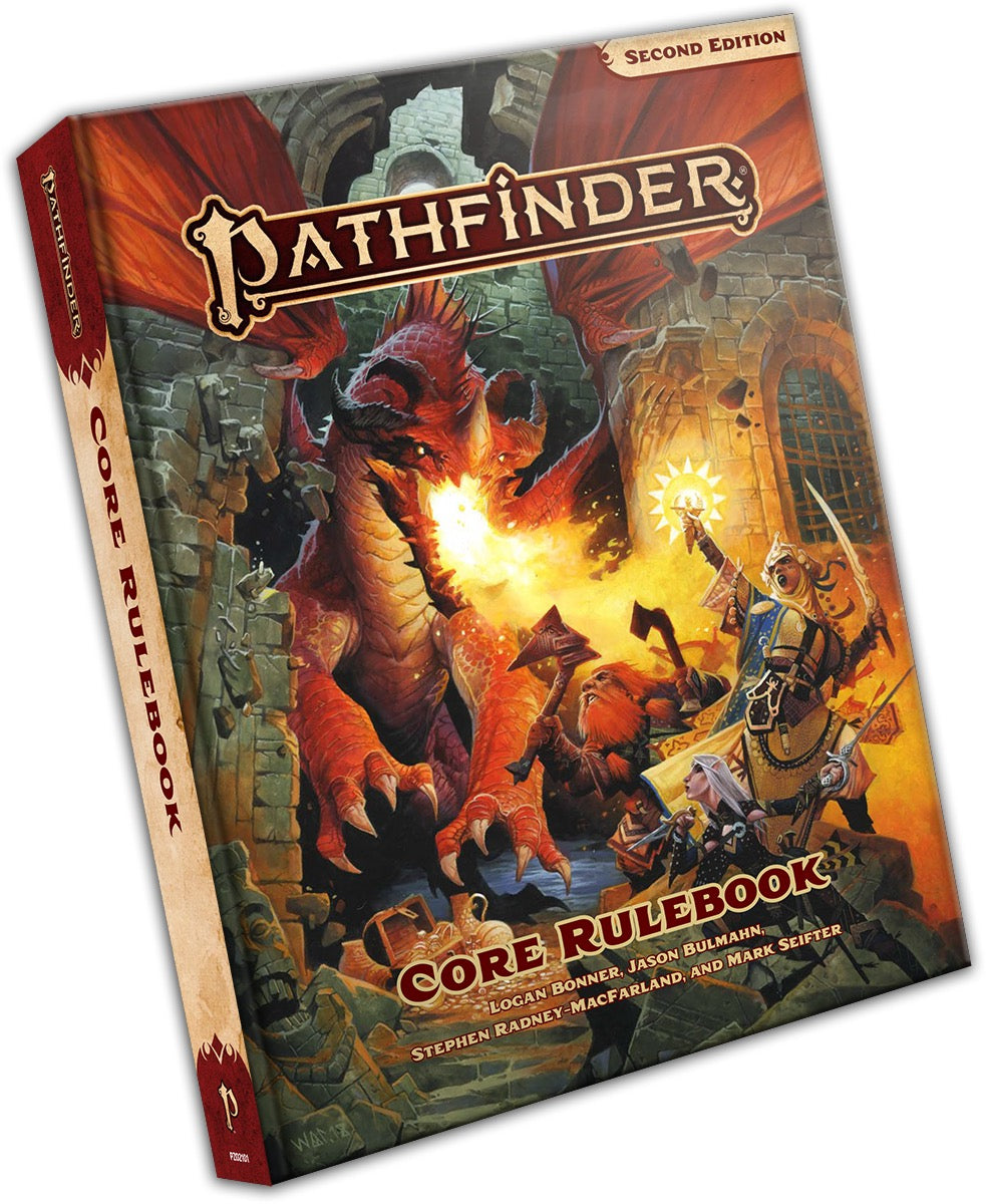 PATHFINDER RPG - SECOND EDITION: CORE RULEBOOK - STANDARD EDITION | Darkhold Games