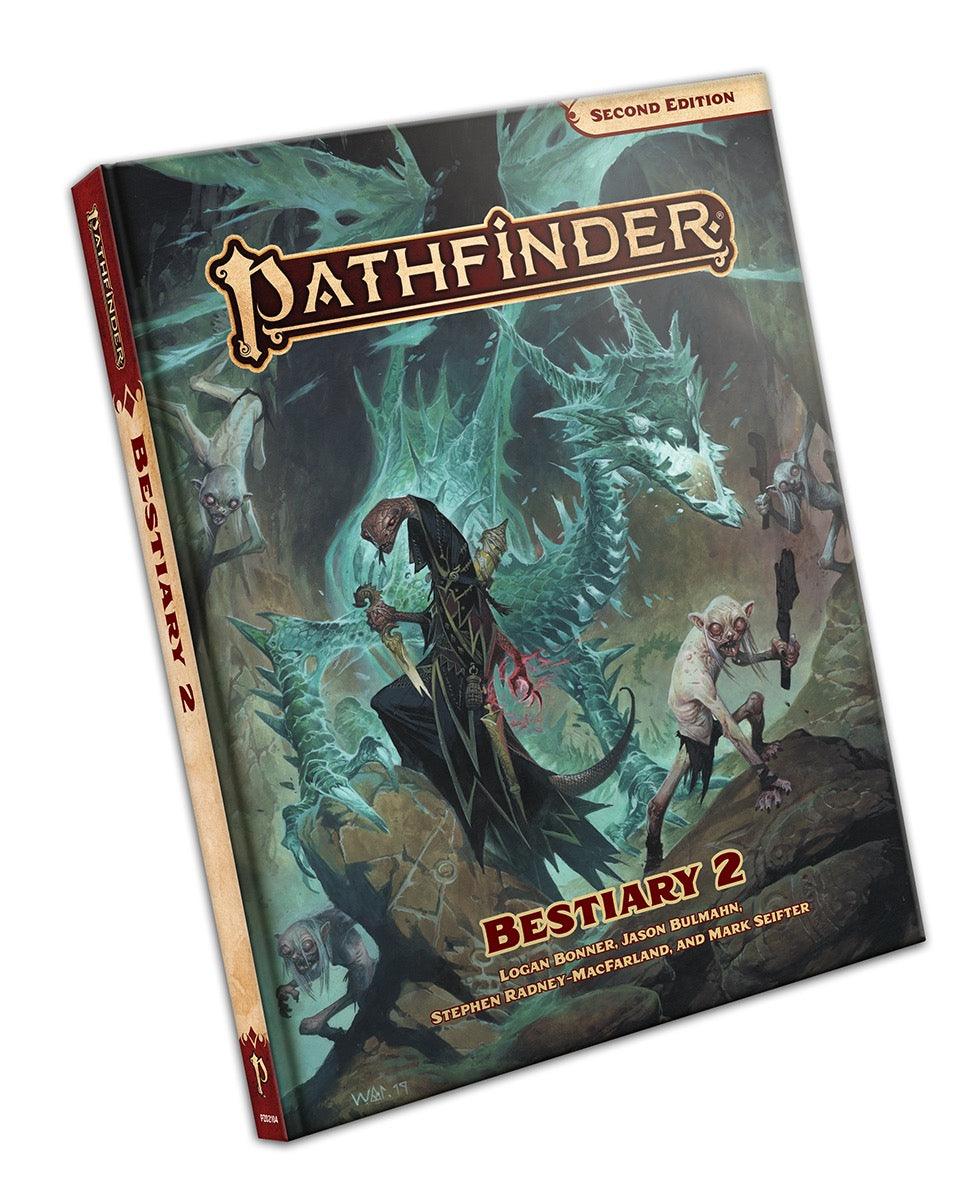 PATHFINDER RPG - SECOND EDITION: BESTIARY 2 - STANDARD EDITION | Darkhold Games