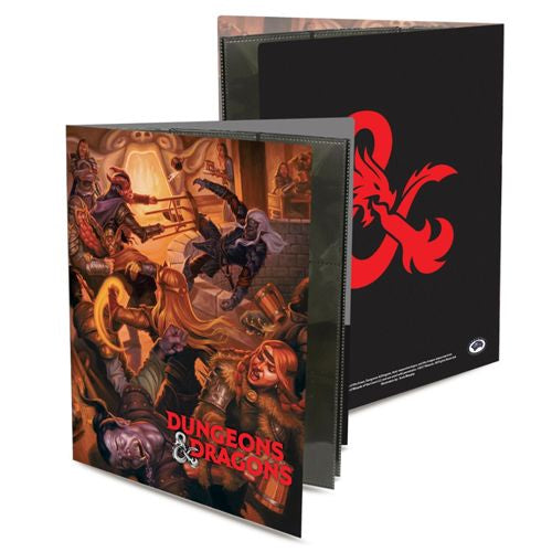 ULTRA PRO: DUNGEONS AND DRAGONS CHARACTER FOLIO - TAVERN BRAWL | Darkhold Games