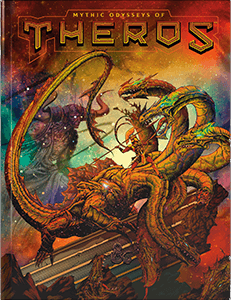 Dungeons & Dragons 5th Edition Mythic Odysseys of Theros - Exclusive Alternate Cover | Darkhold Games
