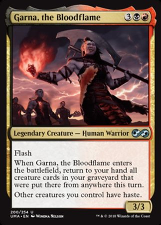 Garna, the Bloodflame [Ultimate Masters] | Darkhold Games