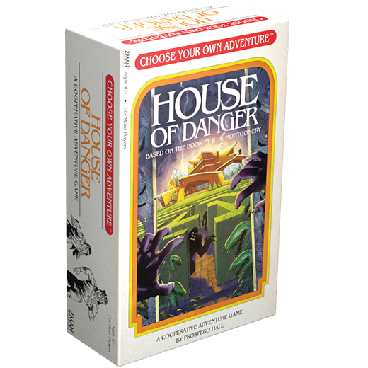 Choose Your Own Adventure: House of Danger | Darkhold Games