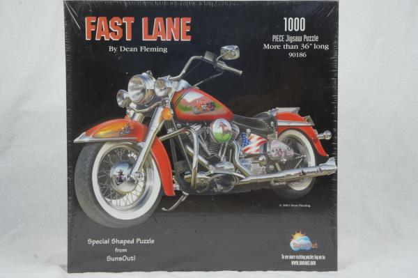 Fast Lane 1000 piece Jigsaw Puzzle | Darkhold Games