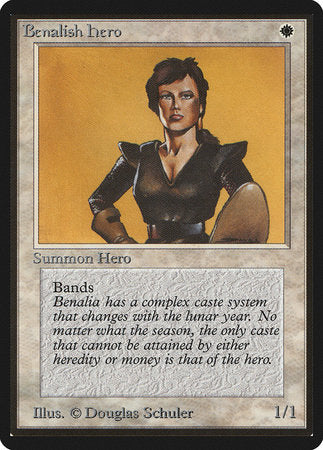 Benalish Hero [Limited Edition Beta] | Darkhold Games