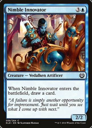 Nimble Innovator [Kaladesh] | Darkhold Games