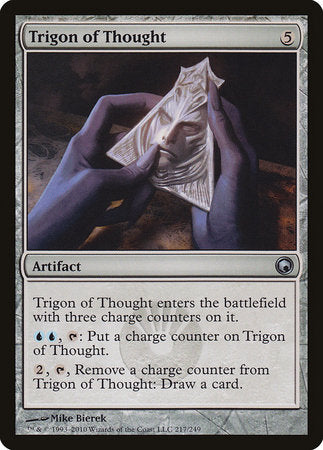 Trigon of Thought [Scars of Mirrodin] | Darkhold Games