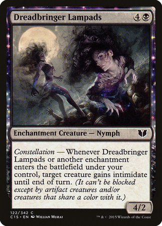 Dreadbringer Lampads [Commander 2015] | Darkhold Games
