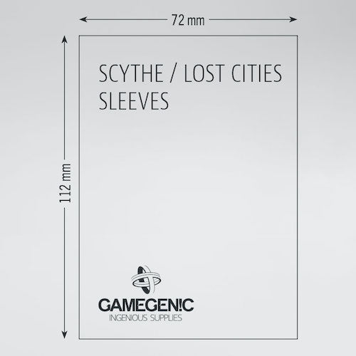 MATTE Scythe and/or Lost Cities Sleeves 72 x 112 mm | Darkhold Games