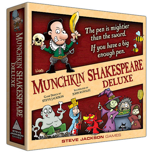 Munchkin Shakespeare: Deluxe (stand alone and expansion) | Darkhold Games