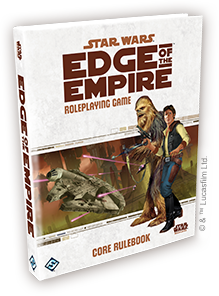 Star Wars RPG: Edge of the Empire - Core Rulebook | Darkhold Games