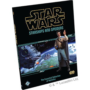 Star Wars RPG: Starships and Speeders Hardcover | Darkhold Games