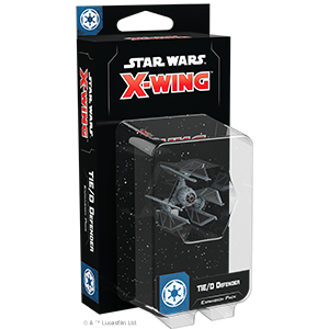 Star Wars X-Wing: 2nd Edition - TIE/D Defender Expansion Pack | Darkhold Games