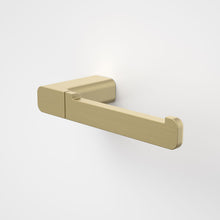 Load image into Gallery viewer, Caroma Luna Toilet Roll Holder in Brushed Brass - Caroma Luna Bathroom Accessories