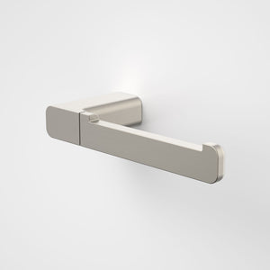 Caroma Luna Toilet Roll Holder in Brushed Nickel - Caroma Luna Bathroom Accessories