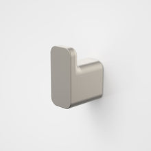 Load image into Gallery viewer, Caroma Luna Robe Hook in Brushed Nickel, Caroma bathroom acceessories