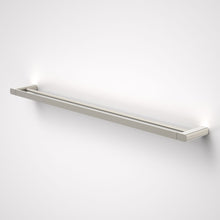 Load image into Gallery viewer, Caroma Luna double Towel Rail  in brushed nickel - Caroma Luna Bathroom Accessories