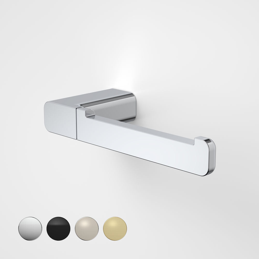 Caroma Luna Toilet Roll Holder in Chrome - Caroma Luna Bathroom Accessories