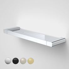 Load image into Gallery viewer, Caroma Luna metal bathroom shelf  in Chrome, Caroma bathroom acceessories