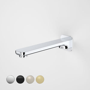 Caroma Luna Wall Basin Bath Spout Chrome