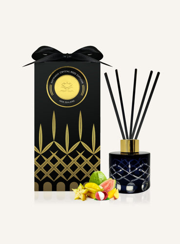 Crystal Reed Diffuser - Starfruit, Lychee and Guava