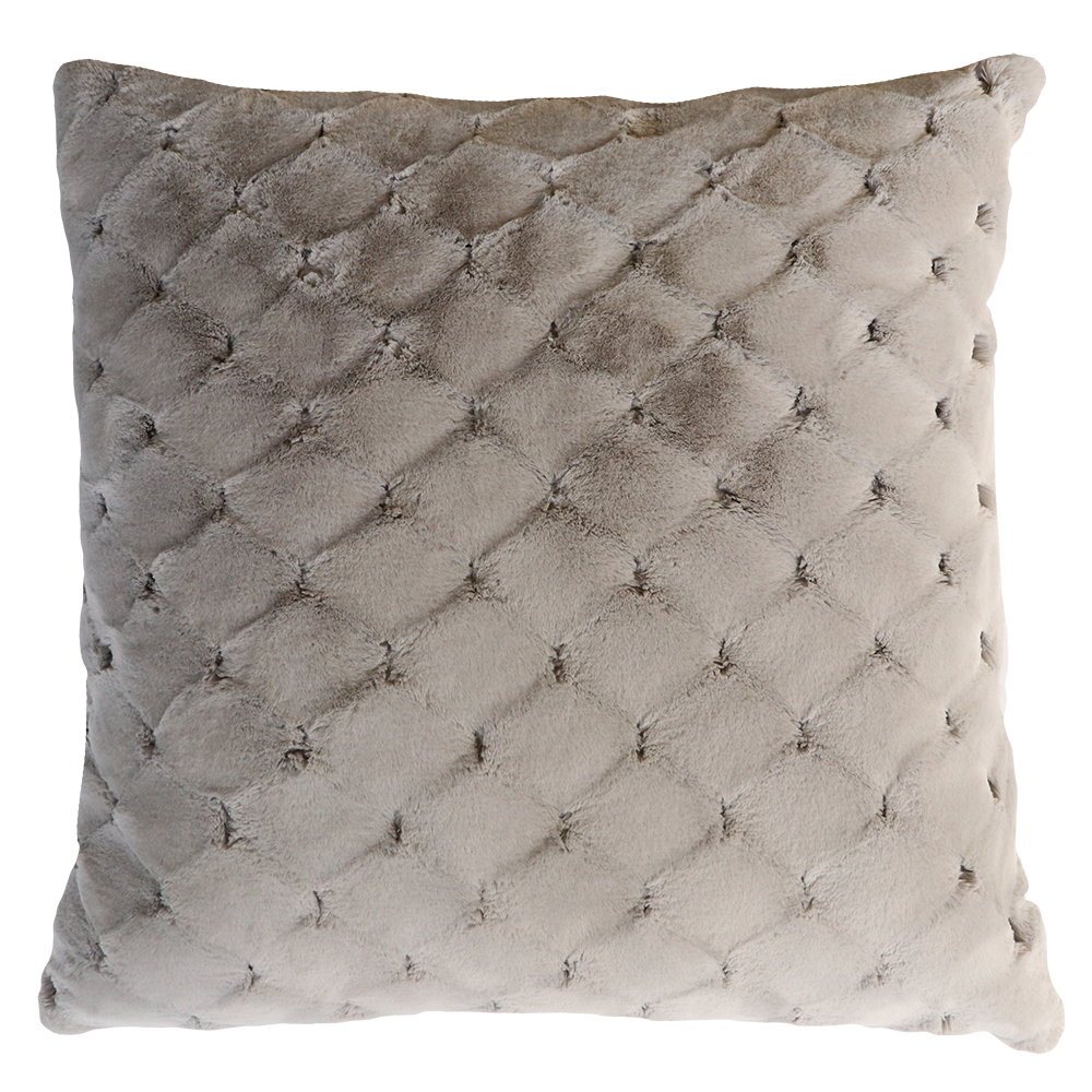 Luxury imitation fur cushion , Valentina  by Heirloom for New Zealand interiors