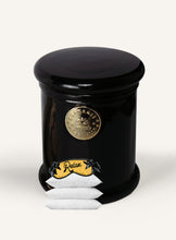 Load image into Gallery viewer, Surmanti Luxury Relax, Sleep Easy Aromatherapy Candle in black glass
