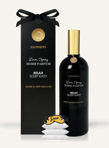 Surmanti Luxury Relax, Sleep Easy Linen and Room Spray