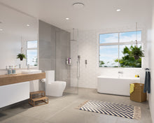 Load image into Gallery viewer, Caroma Luna Basin Mixer lifestyle bathroom shot