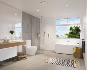 Caroma Luna family bathroom