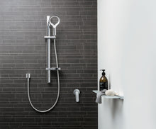 Load image into Gallery viewer, Methven Aurajet Aio Rail Shower Chrome and White  AOSRCPWH