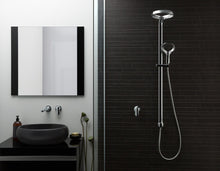 Load image into Gallery viewer, Methven Aio Shower System and wall mounted spout and mixer in chrome