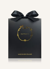 Load image into Gallery viewer, Luxury black and gold gift box from Surmanti