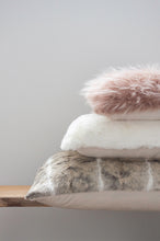 Load image into Gallery viewer, Luxury imitation fur cushion ,  Polar Bear by Heirloom for New Zealand interiors