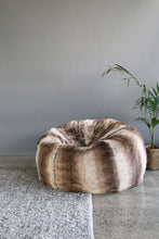 Load image into Gallery viewer, Plush Pod luxury bean bags in imitation fur