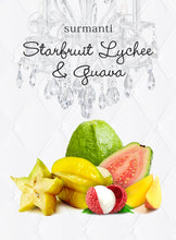 Load image into Gallery viewer, Best scented candle Star Fruit, Lychee and Guava Candle from Surmanti