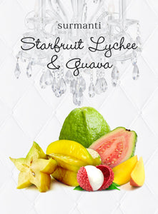 Best scented candle Star Fruit, Lychee and Guava Candle from Surmanti