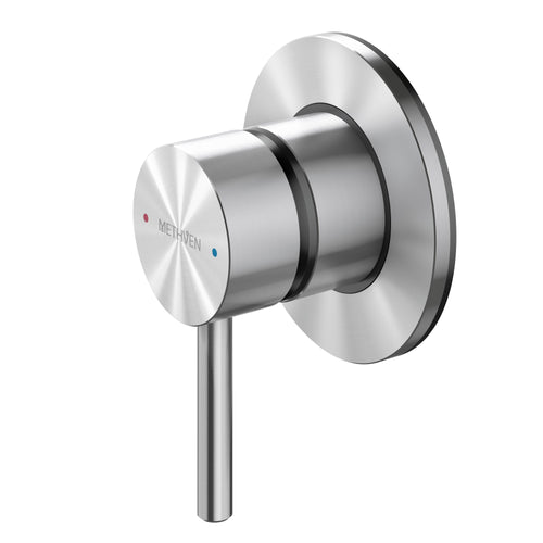 Methven Turoa Shower Mixer in Stainless Steel TUHPSSS for spa like bathrooms