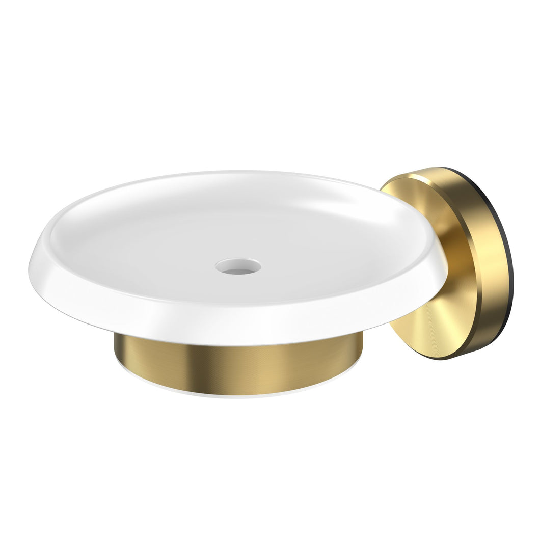 Methven Turoa Soap Dish Brushed Gold TUSDGD