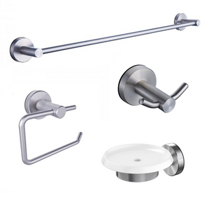 Methven Turoa stainless steel bathroom accessories