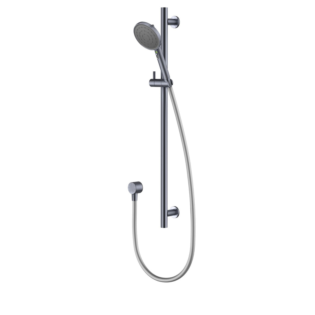 Methven Turoa Rail Shower Brushed Graphite TUSRGM VJET Technology