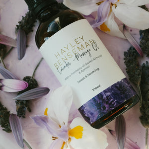 Best scented Lavender Massage Oil Sweet Almond Oil and Apricot Oil