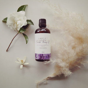 Hayley Benseman Lavender Massage Oil with Sweet Almond Oil and Apricot Oil